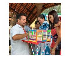 PAJARITOS DE LA SUERTE PARA ACTIVACIONES Y FIESTAS MEXICANAS