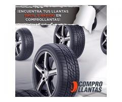 Llantas Michelin, Pirelli, BFGoodrich y muchas marcas Mas