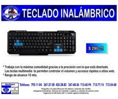 TECLADO INALAMBRICO ACTECK