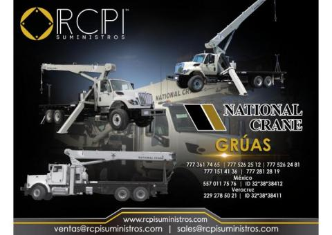 Refacciones para gruas national crane