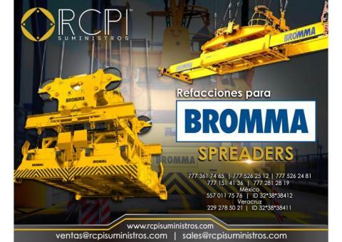 Refacciones para spreader BROMMA