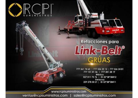 Componentes para gruas industriales Link Belt