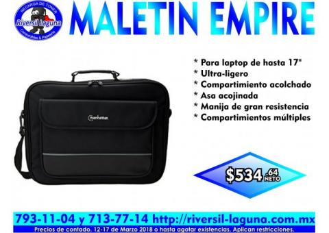 MALETIN EMPIRE PARA LAPTOP