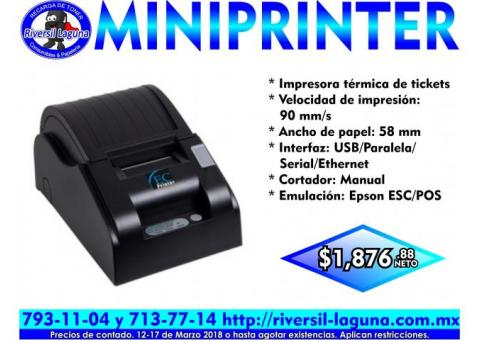MINIPRINTER EC LINE
