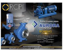 Refacciones para bombas Aurora