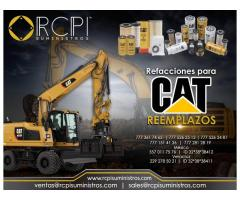 Refacciones para reemplazos CAT