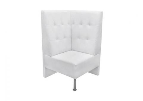 Sillon booth esquinero   Nortek muebles para restaurantes