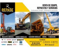 VENTA DE REFACCIONES PARTES Y SERVICIOS PARA GRÚAS  IND.