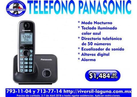TELEFONO INALAMBRICO PANASONIC CON ALTAVOZ