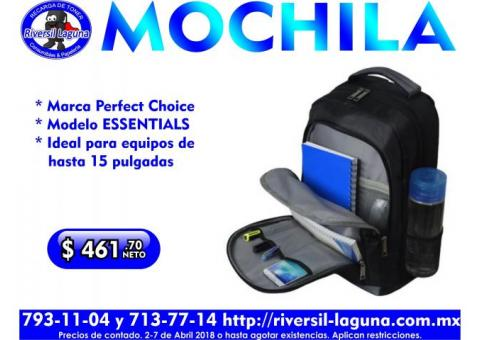 MOCHILA PERFECT CHOICE ESSENTIALS