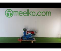 Meelko Peletizadora 150mm 8 hp Diesel para alfalfas y pasturas 120-150kg/h - MKFD150A