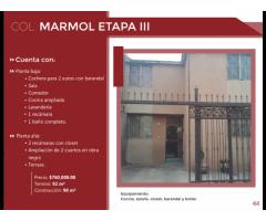 Casa en Col. Marmol III