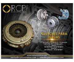 Refacciones y clutches para grúas industriales