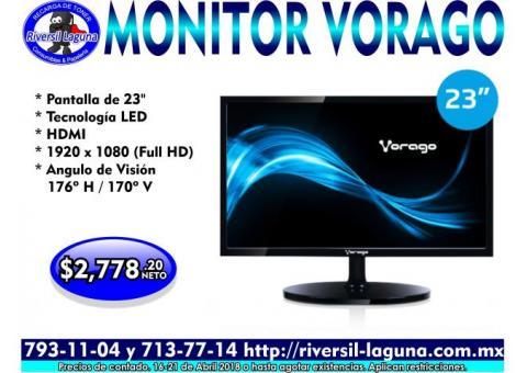 MONITOR VORAGO DE 23 PULGADAS