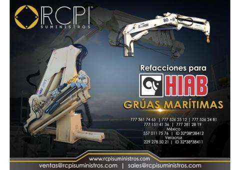 Venta de refacciones para grúas marítimas HIAB