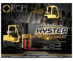 Refacciones para montacargas Hyster