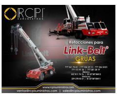 Venta de refacciones para grúas industriales LinkBelt