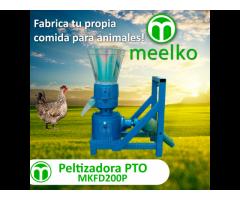 Meelko Peletizadora Máquina  de hacer pellets de concentrados balanceados 200mm PTO - MKFD200P