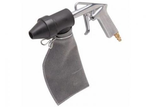 Pistola sand blast con bolsa