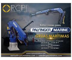 Venta de refacciones para grúas marítimas Palfinger