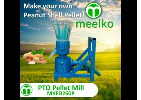 Meelko Peletizadora 260mm PTO para alfalfas y pasturas 350-450kg - MKFD260P