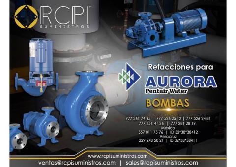 Bombas Aurora para grúas industriales
