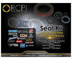 Refacciones y kit de sellos para grúas industriales
