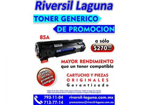 PROMOCION DE TONER GENERICO 85A