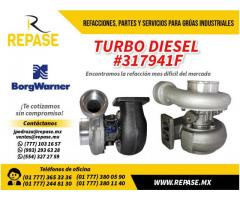 TURBO DIESEL MARCA BORG WARNER