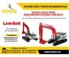 VENTA DE REFACCIONES PARA MAQUINARIA PESADA LINK BELT