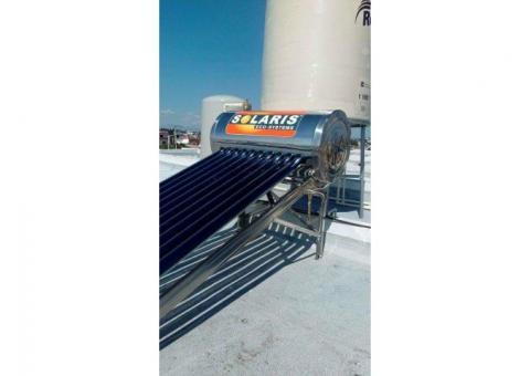 CALENTADOR SOLAR SOLARIS  Y SKY POWER ACERO 1005 INOXDABLE