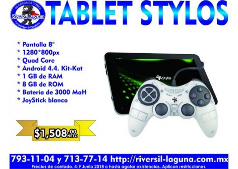 TABLET STYLOS CON JOYSTICK