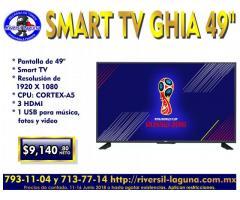 SMART TV GHIA DE 49 PULGADAS