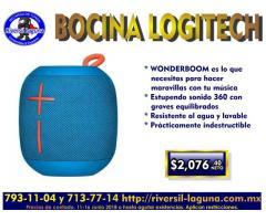 BOCINA WONDER DE LOGITECH