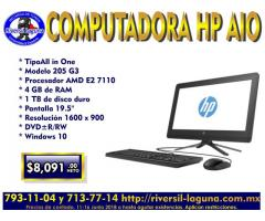 COMPUTADORA ALL IN ONE HP 205 G3