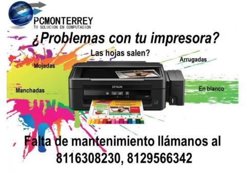 Reparaciòn y mantenimiento impresoras