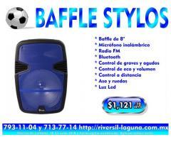BAFFLE STYLOS DE 8