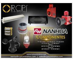 Sirenas y componentes Nanhua para grúas industriales