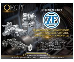 Transmisiones y convertidores ZF para grúas industriales