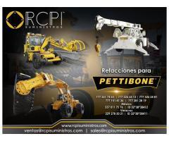 Refacciones para equipo minero Pettibone