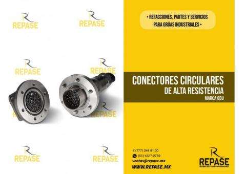 Conector circular alta resistencia