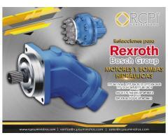 Motores y bombas Rexroth para grúas industriales