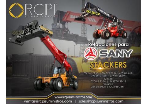 Venta de refacciones para stackers marca Sany