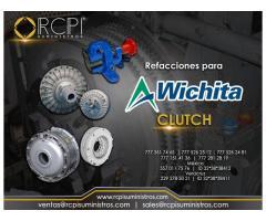 Clutches marca wichita para grúas industriales