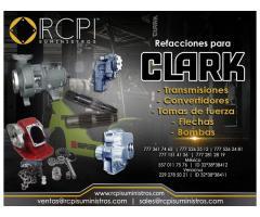 Transmisiones y convertidores Clark para grúas industriales