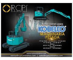 Venta de refacciones para maquinaria pesada Kobelco