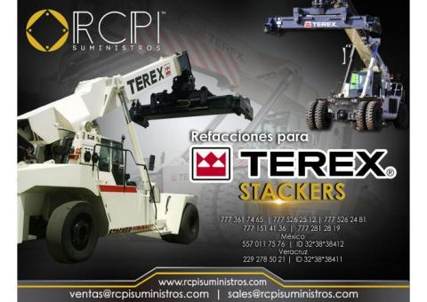 Venta de refacciones para stackers marca Terex