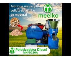 Maquina Meelko Para pellets de madera MKFD230A
