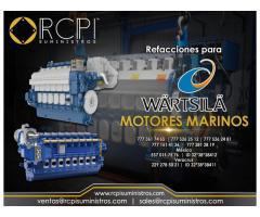 Venta de refacciones para motores marinos Wartsila