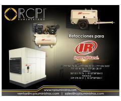 Refacciones y compresores Ingersoll Rand para maquinaria
